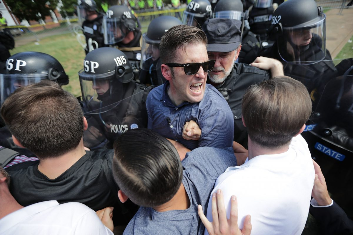 TWITTER FACES FRESH CALLS TO BAN RICHARD SPENCER AFTER ALLEGED AUDIO OF RACIST TIRADE AT CHARLOTTESVILLE RALLY LEAKS