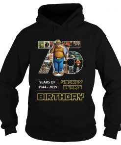 1575946983Pretty 75 Years Of Smokey Bear 1944-2019 Birthday  Hoodie