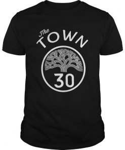30 Stephen Curry The Town Blue Golden State Warriors  Unisex