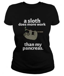 A sloth does more work than my pancreas  Classic Ladies