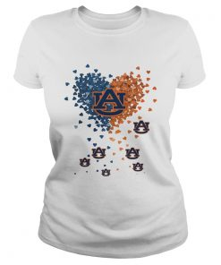 Auburn Tigers In My Heart  Classic Ladies