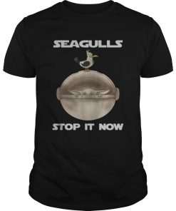 Baby Yoda Seagulls Stop It Now  Unisex
