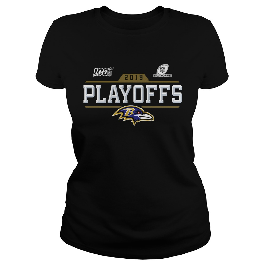 Baltimore Ravens 2019 NFL Playoffs Classic Ladies