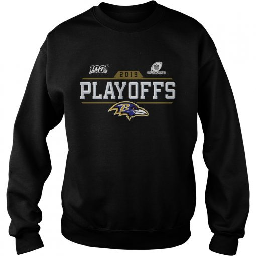 Baltimore Ravens 2019 NFL Playoffs  Sweatshirt