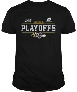 Baltimore Ravens 2019 NFL Playoffs  Unisex