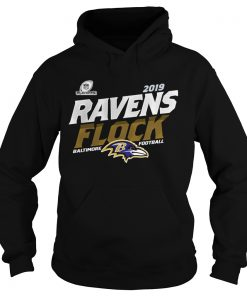 Baltimore Ravens Football Flock 2019 NFL Playoffs  Hoodie
