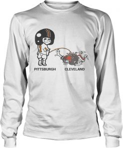 Cam Sutton Pittsburgh Peeing on Cleveland  LongSleeve