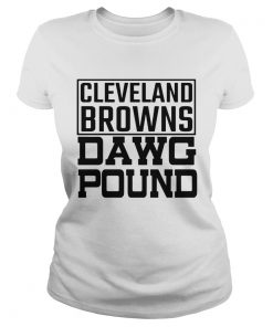 Cleveland Browns Freddie Kitchens Dawg Pound  Classic Ladies