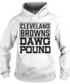 Cleveland Browns Freddie Kitchens Dawg Pound  Hoodie