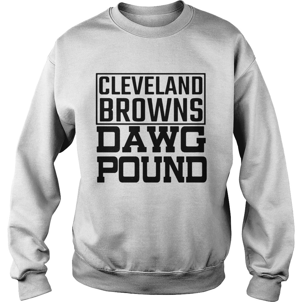 Cleveland Browns Freddie Kitchens Dawg Pound Sweatshirt