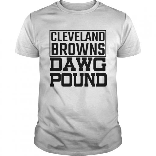 Cleveland Browns Freddie Kitchens Dawg Pound  Unisex