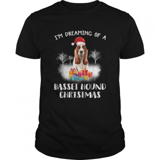 Dreaming Of A Basset Hound Christmas  Unisex