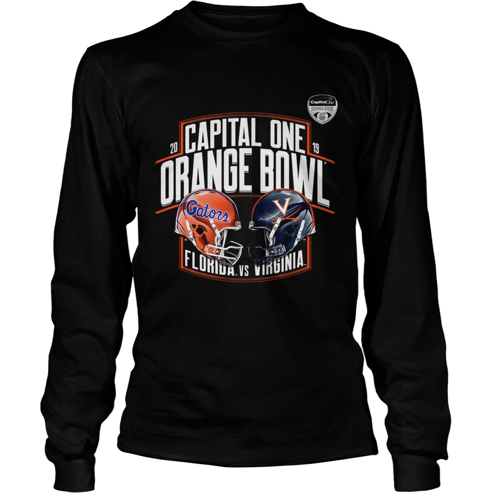 Florida Gators vs Virginia Cavaliers 2019 Capital One Orange Bowl LongSleeve