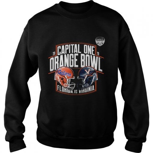 Florida Gators vs Virginia Cavaliers 2019 Capital One Orange Bowl  Sweatshirt