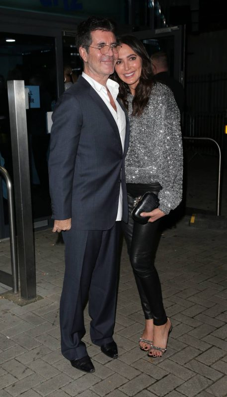 SIMON COWELL JUST CAN'T SEEM TO GET THE TROUSER THING RIGHT
