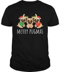 Merry Pugmas Pug Dog Ugly Christmas  Unisex