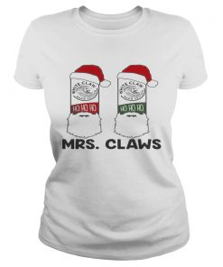 Mrs Claws white claw hard seltzer ho ho ho Christmas  LlMlTED EDlTlON Classic Ladies