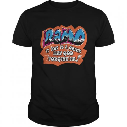 Ramo if art is a crime may god forgive me  Unisex