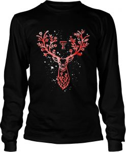 Texas Tech Red Raiders Antler Logo Alumni Graduation  LongSleeve