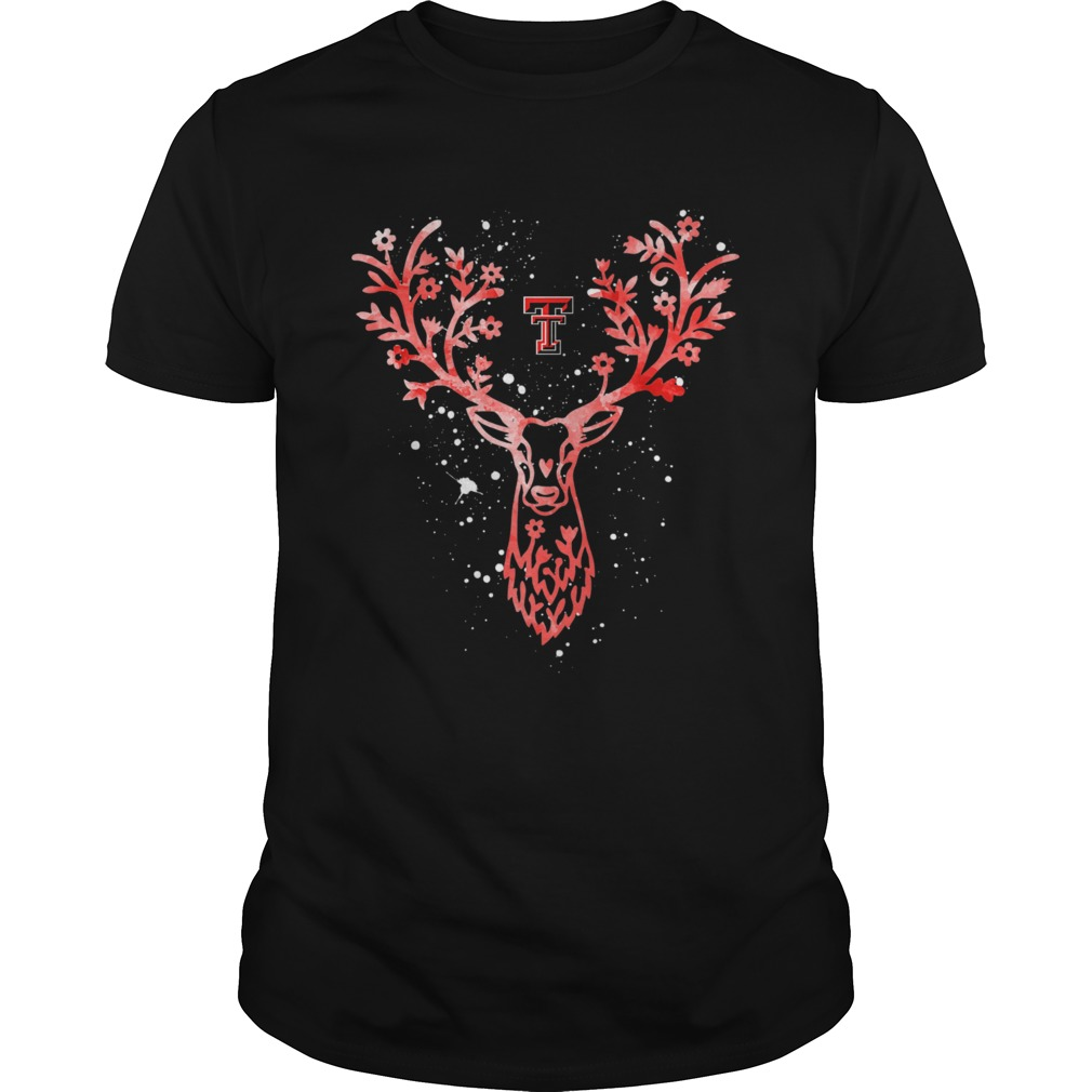 Texas Tech Red Raiders Antler Logo Alumni Graduation Unisex