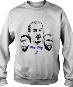 The Big 3 Los Angeles Lakers Lebron James Anthony Davis Alex Caruso  Sweatshirt