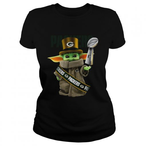 Baby Yoda Green Bay Packer Cup  Classic Ladies