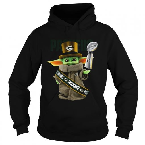 Baby Yoda Green Bay Packer Cup  Hoodie