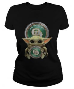 Baby Yoda Hugging Old Dominion Freight Line  Classic Ladies