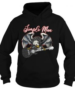 Eagle simple man Lynyrd Skynyrd  Hoodie