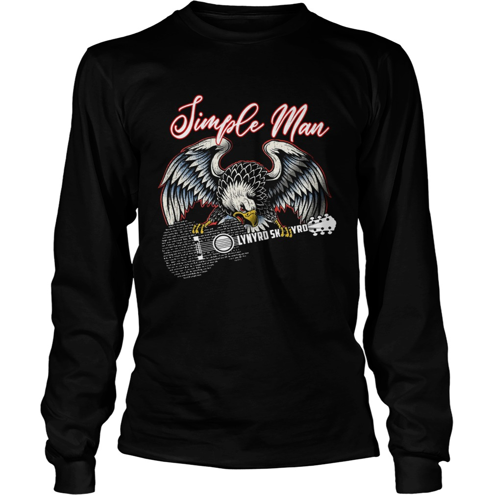 Eagle simple man Lynyrd Skynyrd LongSleeve