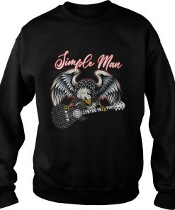 Eagle simple man Lynyrd Skynyrd  Sweatshirt