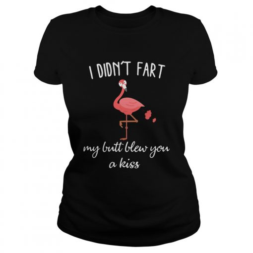 Flamingo i didnt fart my butt blew you a kiss  Classic Ladies