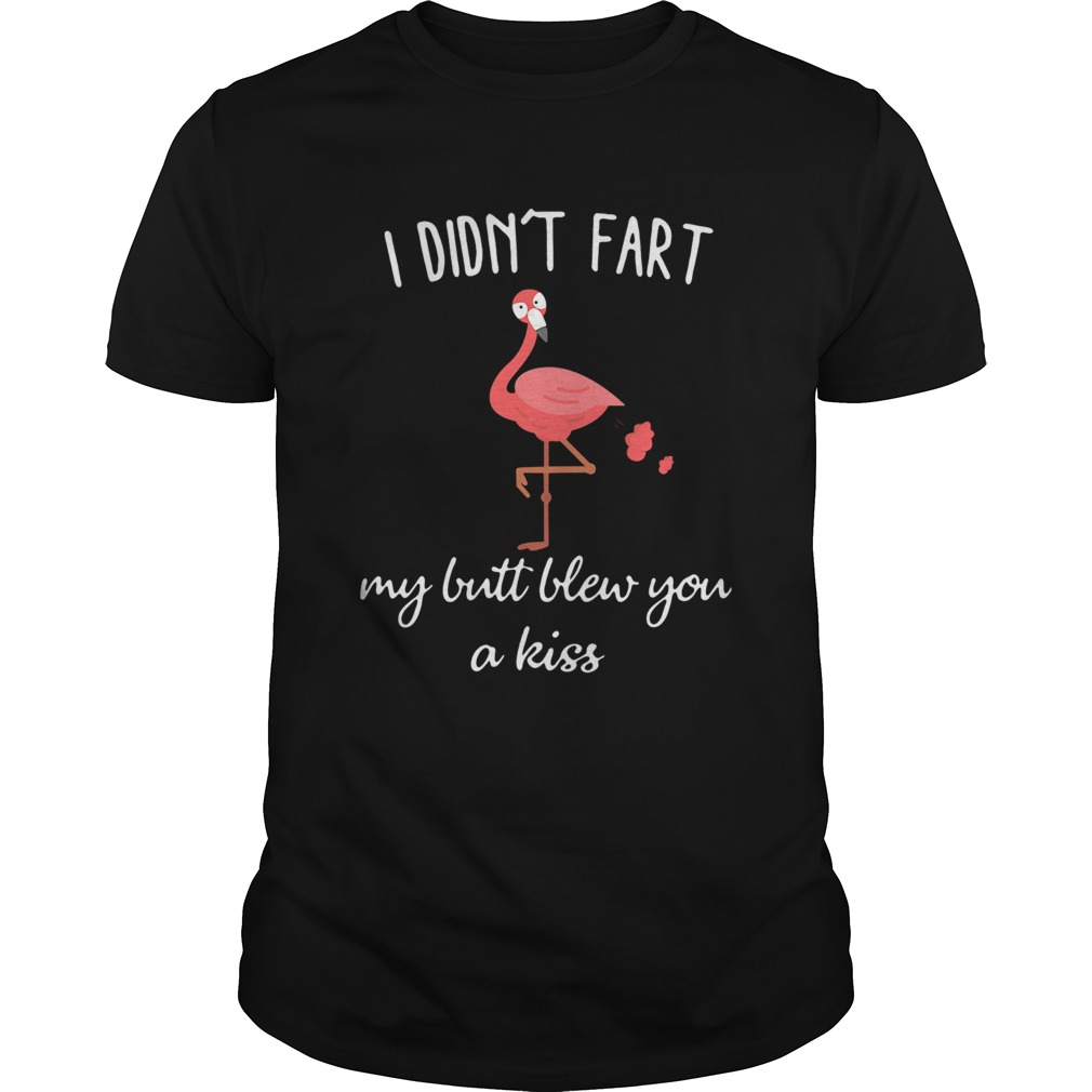 Flamingo i didnt fart my butt blew you a kiss Unisex