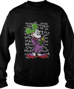 Mickey Joker Haha  Sweatshirt