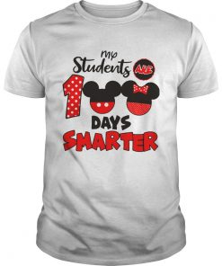 My Students Are 100 Days Smarter Mickey  Unisex