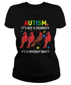 Parrot Autism Its Not A Disability Its A Different Ability  Classic Ladies