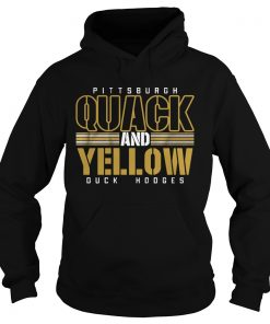 Pittsburgh Quack And Yellow Duck Hodges  Hoodie