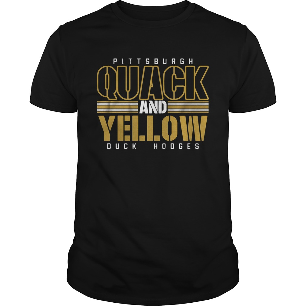 Pittsburgh Quack And Yellow Duck Hodges Unisex