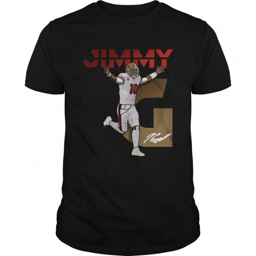San Francisco 49ers Signature Jimmy Garoppolo  Unisex