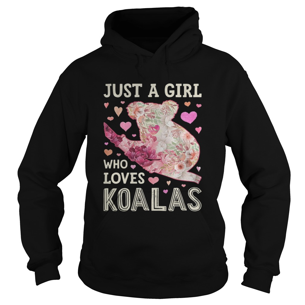 Save Australia Just A Girl Who Loves Koalas Hoodie