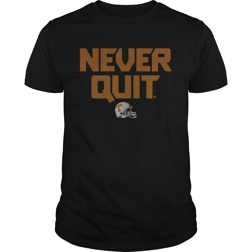 Tennessee Never Quit Unisex