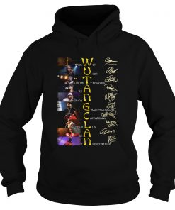 WuTang Clan Raekwon U God Oldirty Bastard Rza Method Man Signatures  Hoodie