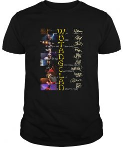 WuTang Clan Raekwon U God Oldirty Bastard Rza Method Man Signatures  Unisex