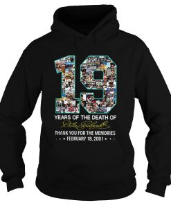 19 Years Of The Death Of Dale Earnhardt Signature  Hoodie
