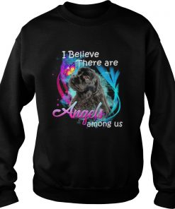American Cocker Spaniel I believe there are angels among us  Sweatshirt