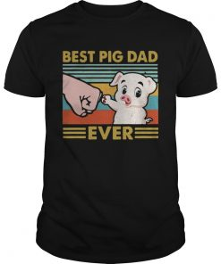 Best pig dad ever sunset IF  Unisex