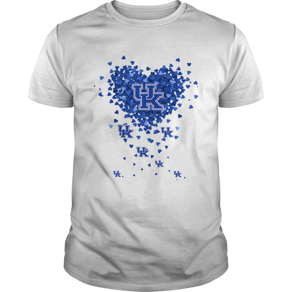 Kentucky Wildcats Tiny Hearts Shape Unisex