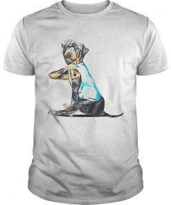 Rottweiler Tattoos I Love MOM Sitting Gift Mothers Day  Unisex