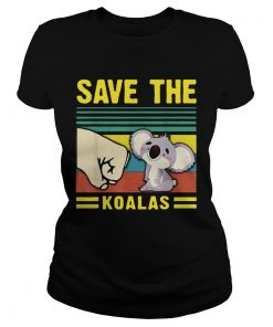Save the Koalas VintageSave the Earth  Classic Ladies