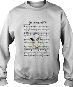 Snoopy you are my sunshine chords  Sweatshirt